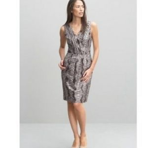 Banana Republic 100% Silk Sheath Dress